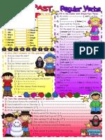 10 Past Simple Regular Verbs Fun Activities Games 18699