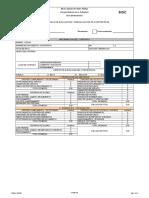 Registro Evaluación de Contratistas
