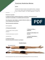 209997383 Posiciones Anatomicas Basicas