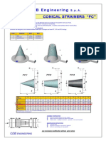 Preliminary Conical Strainers
