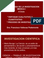 Clase 9 Pro.deinves.enfoqueCualita.ycuantiClaseMet2006 II