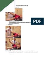 Tes Provokasi Deteksi Low Back Pain