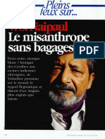 V.S Naipaul - Le misanthrope sans bagages