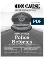 police reforms by common cause
