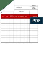 Checklist 009 Linea Retractil