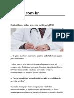 Curiosidades Pericias Medicas Do Inss