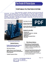 High Flow Portable Filtration System 2009