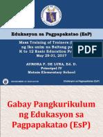Gabay Pangkurikulum - Ppt
