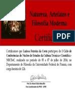 Certificado Larissa Ferreira Da Costa