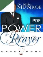 Daily Power and Prayer Devotion - Myles Munroe