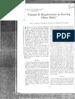 Drenick B6 Needs Fasting Obese Men 142-1l 1969