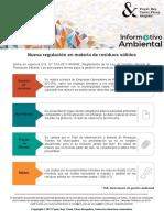 Informativo Ambiental Nueva Regulación en Materia de Residuos Sólidos.pr