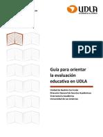 Guia Evaluacion Educativa UDLA
