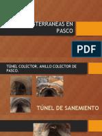 Obras Subterraneas en Pasco