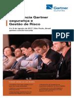 Conferência Gartner de Segurança & Gestão de Risco LA 2017 DM3 Brochura