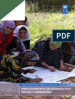 UNDP Social Environmental Screening Procedure SPANISH 1January2015.PDF