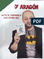 Woody Aragón - Notas de conferencia gira 2015.pdf