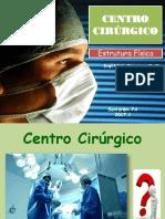 estrutura física do centro cirúrgico