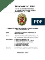 Monografia - Acciones de Patrullaje y Control Policial en El Procedimiento de Control de Carrete