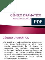 GÉNERO DRAMÁTICO 4°