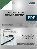 Metodologia de pesquisa cientifica