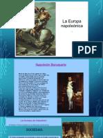 La Europa Napoleonica