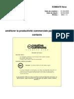 Ameliorer La Productivite Commerciale Par Les Centres de Contacts