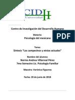 Psicologia Del Mexicano Etnias y