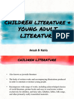 Children & YA Literature