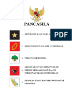 Teks Pancasila Ada Logonya