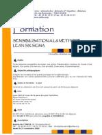 3Conseil-Sensibilisation Lean 6 Sigma