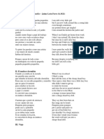 Ciclo de Canciones Infantiles - Translation