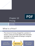 Chapter 10 Pricing Revised