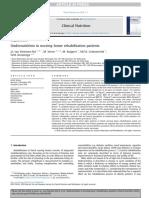 Undernutrition in Nursing Home Rehabilitation PatientsUndernutrition in Nursing Home Rehabilitation Patients