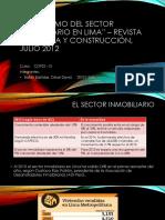 7. Crecimiento Inmobiliario en Lima