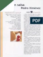 2. Foie Con Salsa Pedro Ximénez