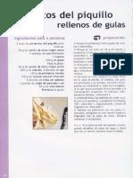 2. Pimientos Del Piquillo Rellenos de Gulas