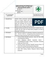 EP2.8.5.1.2 SOP Pemeliharaan Dan Pemantauan Instalasi Listrik, Air, Ventilasi, Gas, Dan Sistem Lain