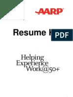 Job Hunt AARP Over 50 Resume Kit