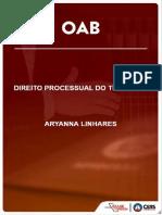 Curso OAB - Direito Processual do Trabalho - Aryanna Linhares - Peças