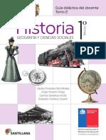 Historia - Geografía y Ciencias Sociales 1º medio - Guía didáctica del docente tomo 2.pdf