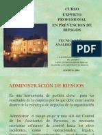 TECNICAS DE ANALISIS DE RIESGOS.ppt