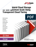 Redp5411-01 - Enabling Hybrid Cloud Storage for IBM Spectrum Scale Using Transparent Cloud Tiering