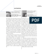 Inventio 1 págs 83-84 Reseñas,Significar con textos