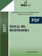 Manual Del Registrador 2017