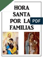 Hora Santa Por Las Familias