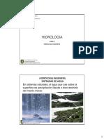 Clase 8 Hidrologia - Hidrologia Ingenieril Ingresos de Agua