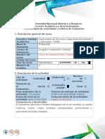 Guía de Actividades y Rubrica de Evaluación - Paso 2 Realizar Actividades en Linea de Contextualización Práctica 1, Práctica 2 y Práctica 3 Nooo