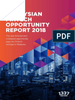 1337 Malaysian Fintech Opportunity Report 2018