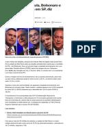 014-08 _Em cenário sem Lula, Bolsonaro e Alckmin empatam em SP, diz pesquisa MDA - Notícias - UOL Eleições 2018